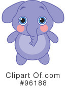 Elephant Clipart #96188 by Pushkin