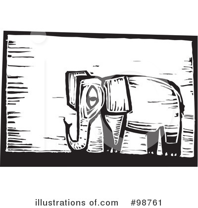 Elephant Clipart #98761 by xunantunich