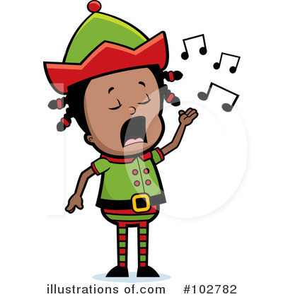 Elf Clipart #102782 by Cory Thoman