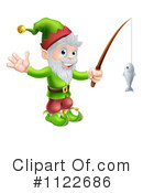 Royalty-Free (RF) Elf Clipart Illustration #1122686
