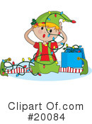 Elf Clipart #20084 by Maria Bell