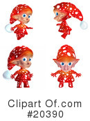 Royalty-Free (RF) Elf Clipart Illustration #20390