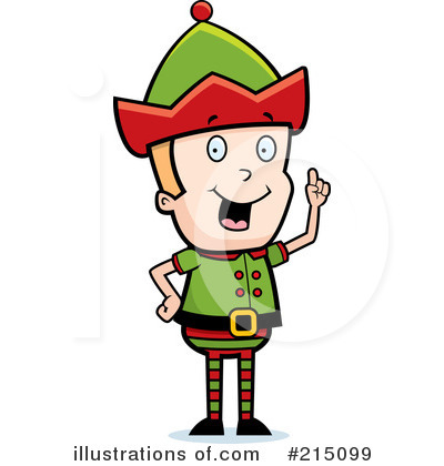 Elf Clipart #215099 by Cory Thoman