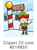 Royalty-Free (RF) Elf Clipart Illustration #218820