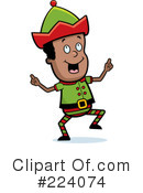 Elf Clipart #224074 by Cory Thoman