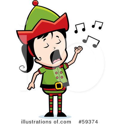 Elf Clipart #59374 by Cory Thoman