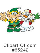 Elf Clipart #65242 by Dennis Holmes Designs