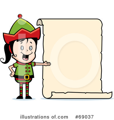 Elf Clipart #69037 by Cory Thoman