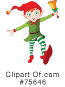 Royalty-Free (RF) elf Clipart Illustration #75646