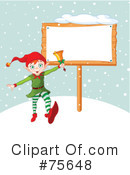 Royalty-Free (RF) elf Clipart Illustration #75648