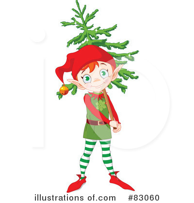 Christmas Tree Clipart #83060 by Pushkin