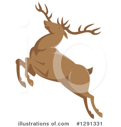 Deer Clipart #1291331 by patrimonio
