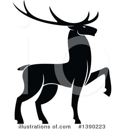 Deer Clipart #1390223 by Vector Tradition SM