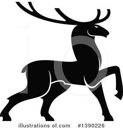 Deer Clipart #1390226 by Vector Tradition SM