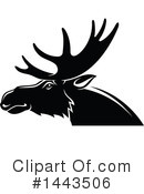 Elk Clipart #1443506 by Vector Tradition SM