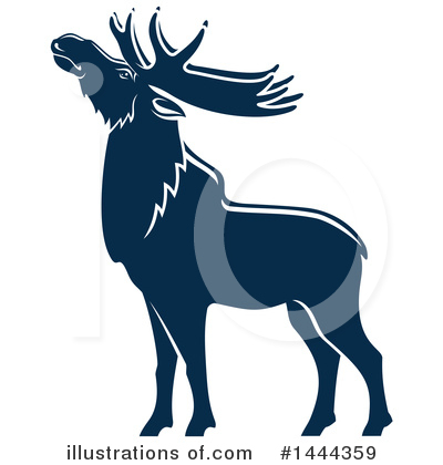 Elk Clipart #1444359 by Vector Tradition SM