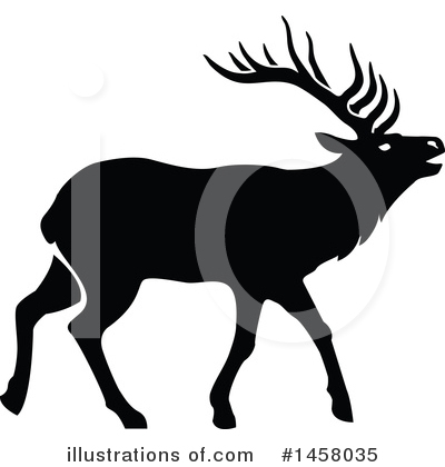 Elk Clipart #1458035 by Vector Tradition SM