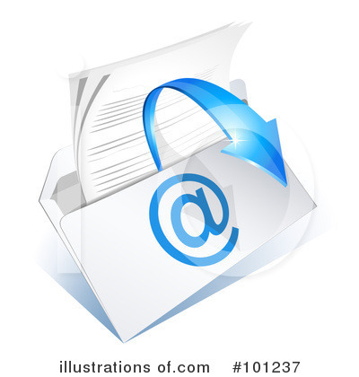 Email Clipart #101237 by Oligo