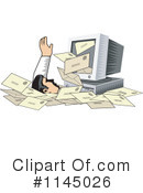 Royalty-Free (RF) Email Clipart Illustration #1145026
