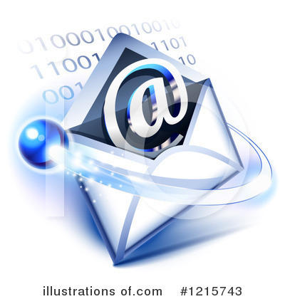 Email Clipart #1215743 by Oligo