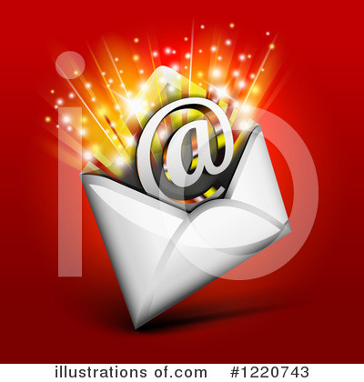 Email Clipart #1220743 by Oligo