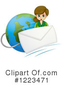 Email Clipart #1223471 by Graphics RF