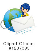 Email Clipart #1237393 by Graphics RF