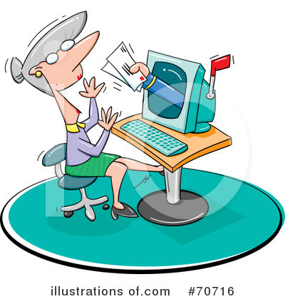 Computers Clipart #70716 by jtoons