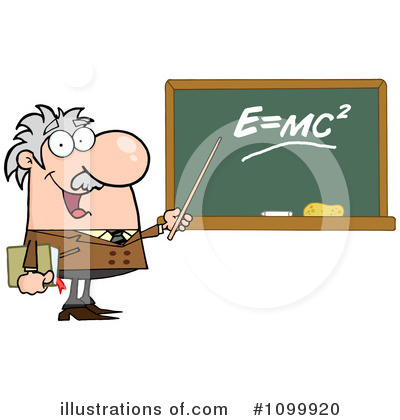 Professor Clipart #1099920 by Hit Toon