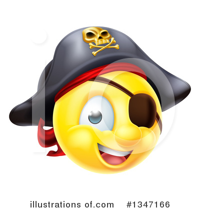 Pirate Clipart #1347166 by AtStockIllustration