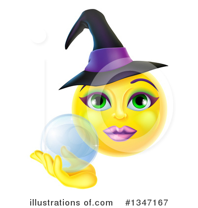 Witch Clipart #1347167 by AtStockIllustration