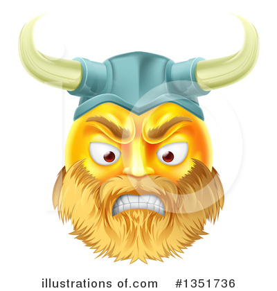 Viking Clipart #1351736 by AtStockIllustration