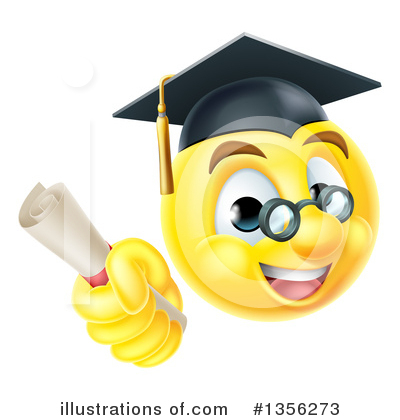 Graduate Clipart #1356273 by AtStockIllustration