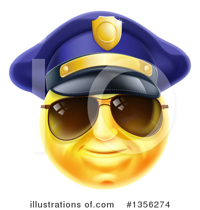 Police Man Clipart #1356274 by AtStockIllustration