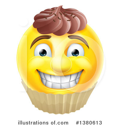 Cupcakes Clipart #1380613 by AtStockIllustration