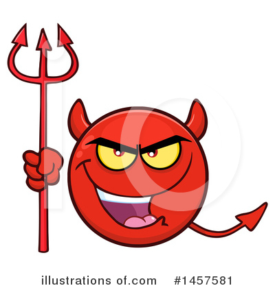 Devil Clipart #1457581 by Hit Toon