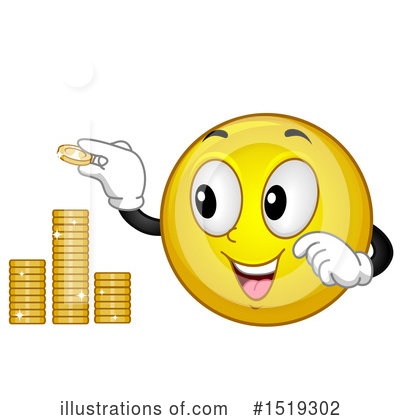 Coin Clipart #1519302 by BNP Design Studio