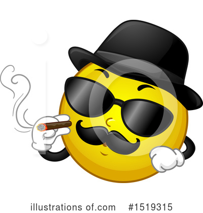 Smoking Clipart #1519315 by BNP Design Studio