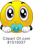 Royalty-Free (RF) Emoji Clipart Illustration #1519337