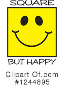 Emoticon Clipart #1244895 by Johnny Sajem