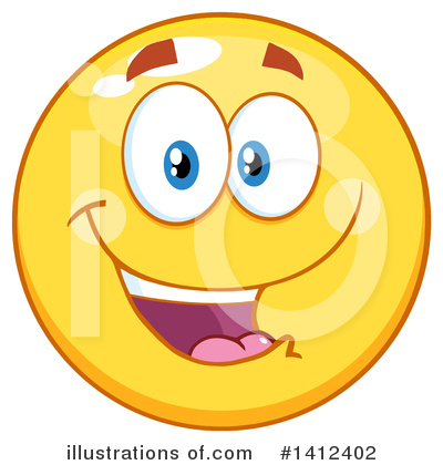 Emoji Clipart #1412402 by Hit Toon