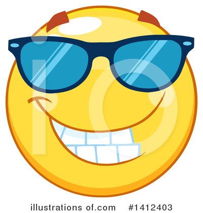 Emoji Clipart #1412403 by Hit Toon