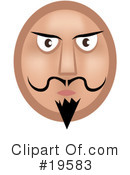 Emoticon Clipart #19583 by AtStockIllustration