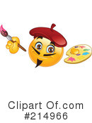 Royalty-Free (RF) Emoticon Clipart Illustration #214966