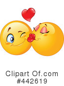 Royalty-Free (RF) emoticon Clipart Illustration #442619