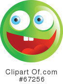 Royalty-Free (RF) Emoticon Clipart Illustration #67256