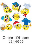 Royalty-Free (RF) Emoticons Clipart Illustration #214606