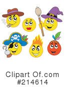 Royalty-Free (RF) Emoticons Clipart Illustration #214614