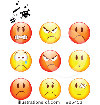 Emoticons Clipart #25453 by beboy