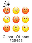 Royalty-Free (RF) Emoticons Clipart Illustration #25453